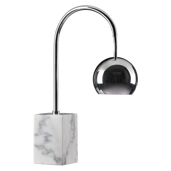 Home Roots Run Marble Metal Table Lamp OCN-249391