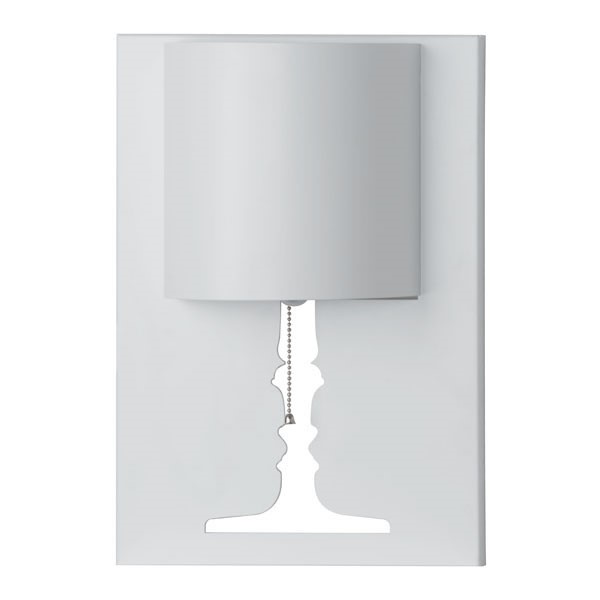 Home Roots Dream White Metal Wall Lamp OCN-249404