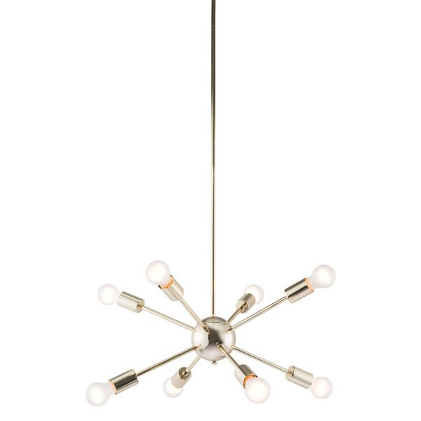 Home Roots Pilsner Gold Metal Ceiling Lamp OCN-249412