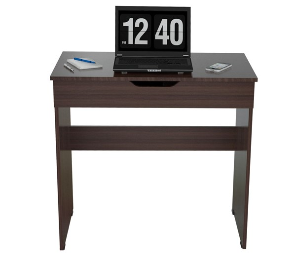 HomeRoots Espresso Drawer Writing Desk OCN-249793