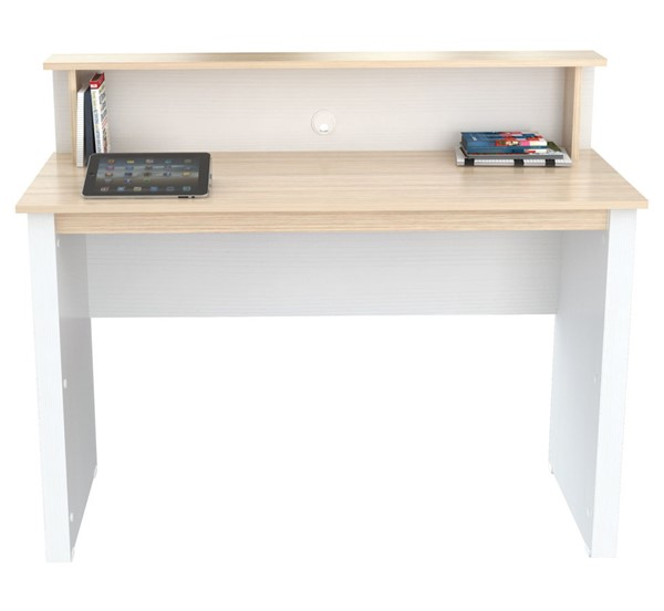 HomeRoots Laura White Writing Desk OCN-249802