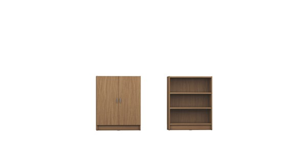 HomeRoots Greenwich Grande 2.0 Bookcases OCN-250599-BC-VAR