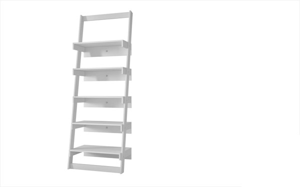 HomeRoots Carpina Brilliant Ladder Shelf with 5 Floating Shelves OCN-250769-BC-VAR