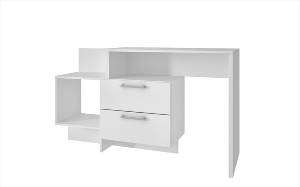 HomeRoots Home Desk with 1 Shelves OCN-250823-OD-VAR