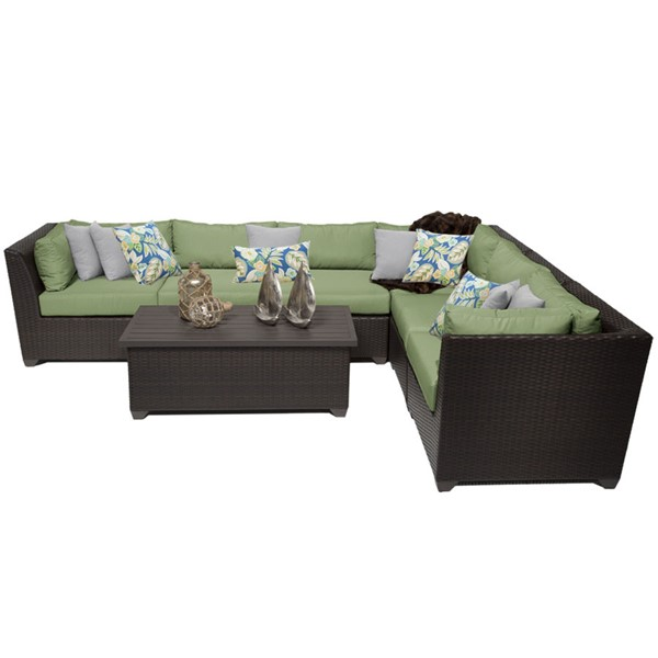 Home Roots Cilantro Outdoor Wicker Patio 7pc Furniture Set (07B) OCN-257903