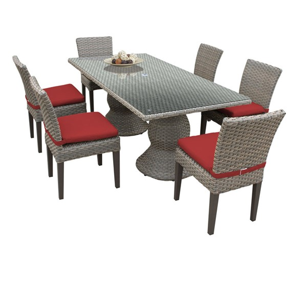 Home Roots Oasis Terracotta Patio Elegance Outdoor Dining Sets OCN-260274