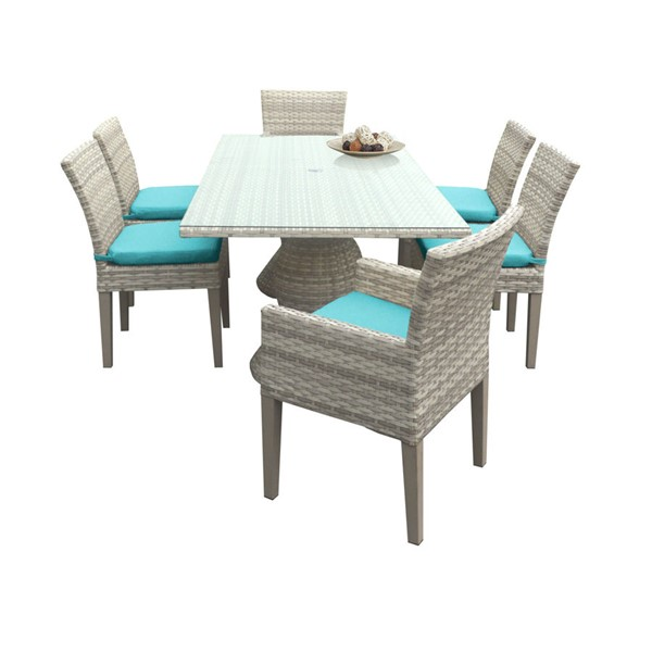 HomeRoots Fairmont Patio Outdoor Dining Sets with 4 Armless Chairs OCN-260971-OT-DS-VAR