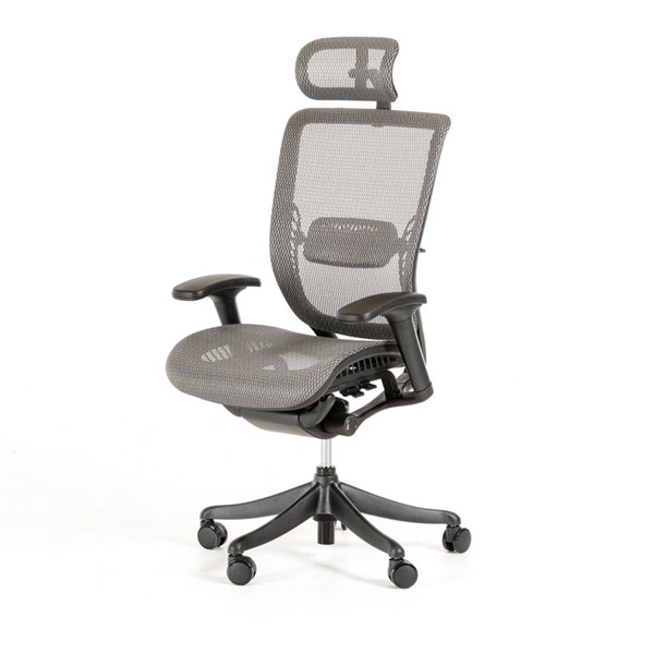 HomeRoots Polyester Modern Office Chair OCN-282713-OCH-VAR