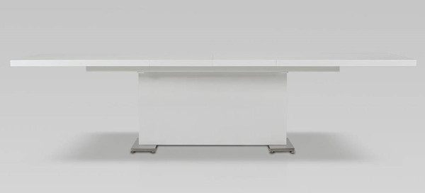 Homeroots White MDF Top Dining Table OCN-283320