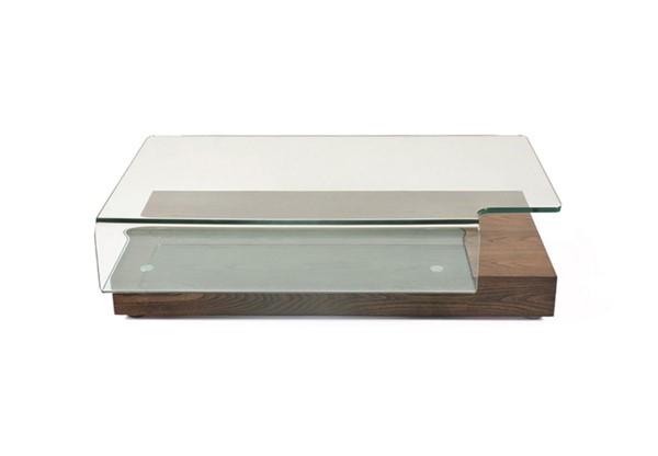 HomeRoots Modern Glass Coffee Table OCN-283448