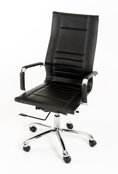 HomeRoots Modern Leatherette Office Chair OCN-283765-OCH-VAR
