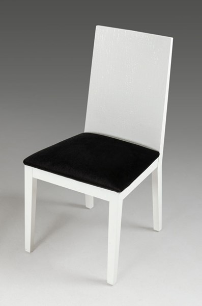 2 HomeRoots White Dining Chairs OCN-284078