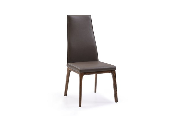 2 HomeRoots Leatherette Dining Chairs OCN-284201-DR-CH-VAR