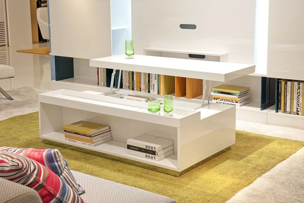 HomeRoots White Coffee Table OCN-284466