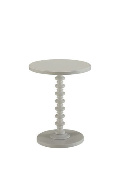 HomeRoots Acton White Side Table OCN-286294