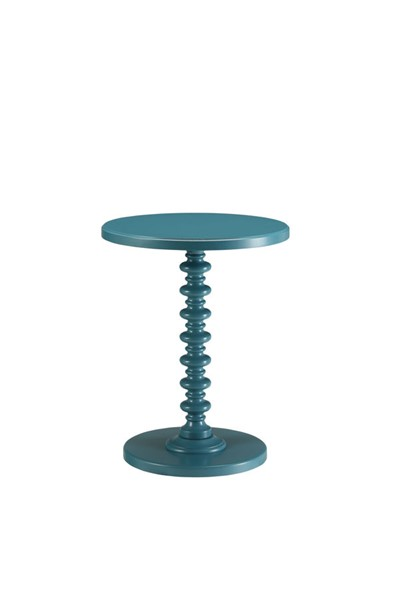 HomeRoots Acton Teal Side Table OCN-286295