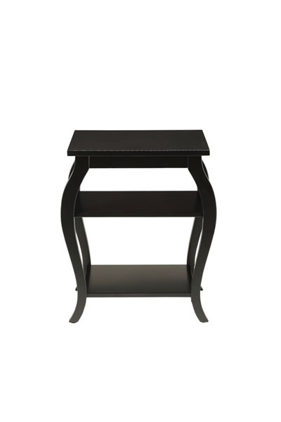 HomeRoots Becci Traditional Black End Table OCN-286309