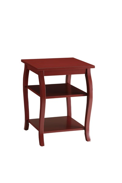 Home Roots Becci Traditional Red End Table OCN-286313