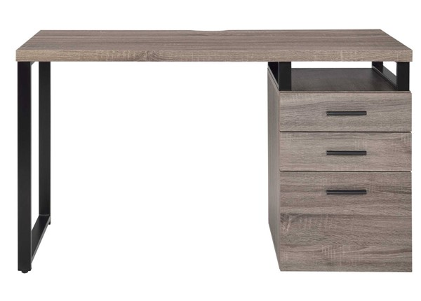 Homeroots Gray Oak PVC Desk OCN-286418