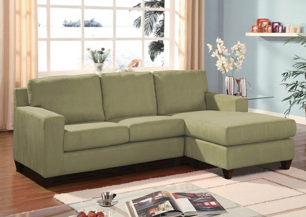Home Roots Vogue Sage Fabric Sectional Sofa OCN-286498