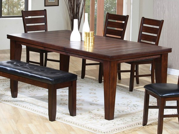 HomeRoots Urbana Cherry Dining Table OCN-286539