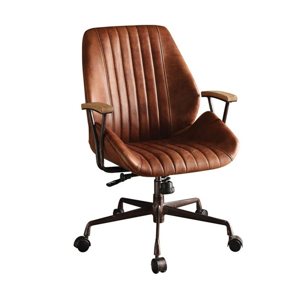 Home Roots Hamilton Cocoa Leather Office Chair OCN-286613