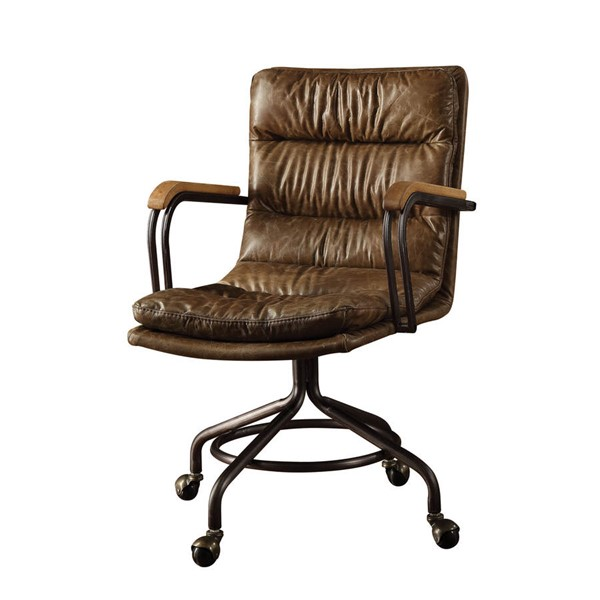 HomeRoots Hedia Leather Office Chairs OCN-28661-OCH-VAR
