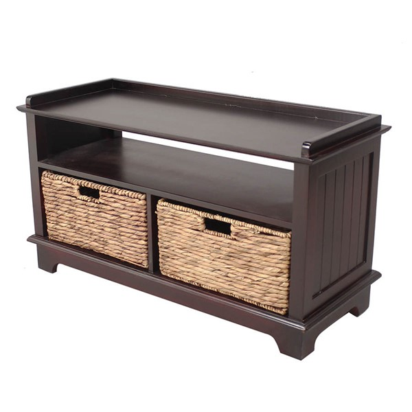 HomeRoots Vale Espresso Entertainment Cabinet OCN-294589