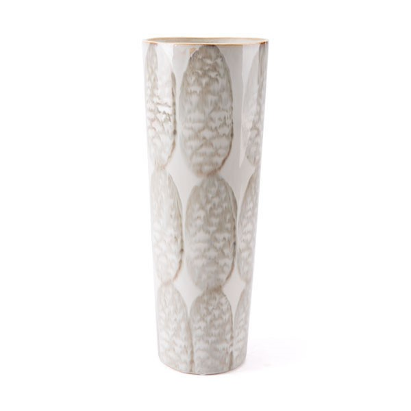Ocean Tailer Ivory Sage Green Tall Vase The Classy Home