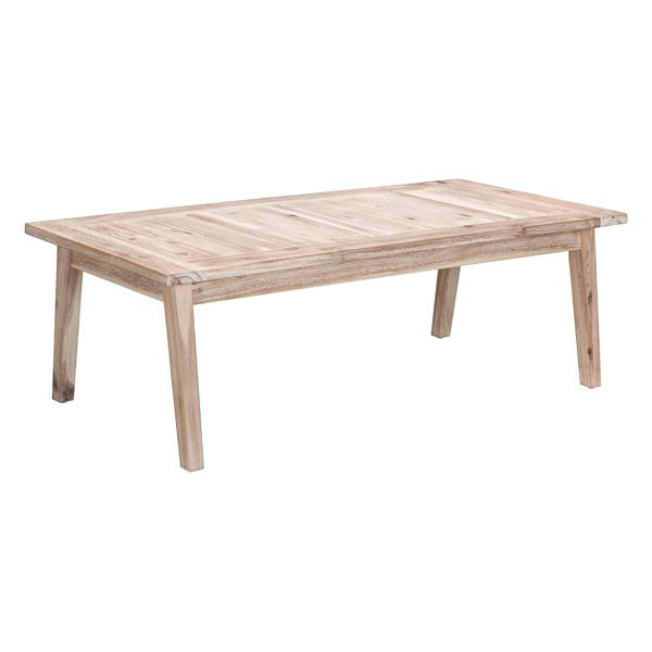 HomeRoots South Port White Wash Coffee Table OCN-296136