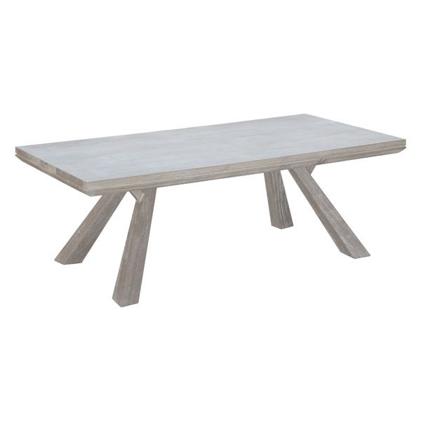 HomeRoots Beaumont Solid Wood Rectangle Coffee Table OCN-296283