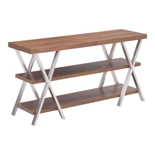 Home Roots Renmen Walnut TV Stand OCN-296446