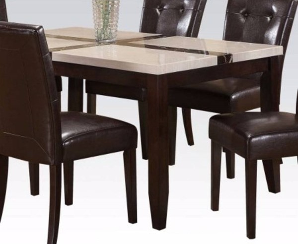 Homeroots Justin Brown MDF  Dining Table OCN-297270