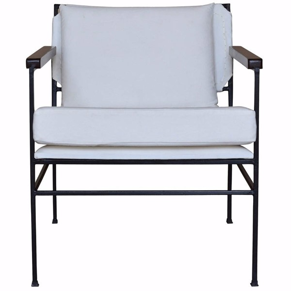 HomeRoots Contemporary White Bonny Seaton Chair OCN-302667
