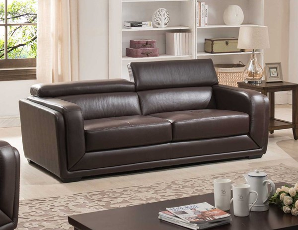 Home Roots Dark Brown Living Room Sofa OCN-302873