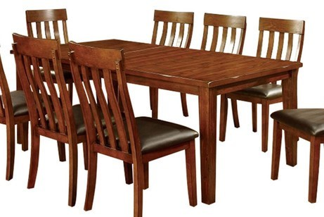 Homeroots Cherry Wood Rectangular Dining Table OCN-303069