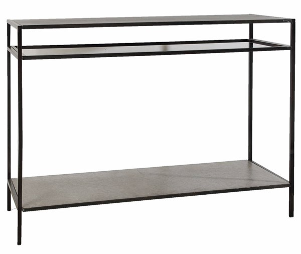 Homeroots Ivory Metal Practically Subtle Console Table OCN-304514