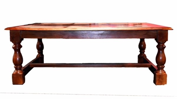 Homeroots Brown Wood Rectangle Coffee Table OCN-308809