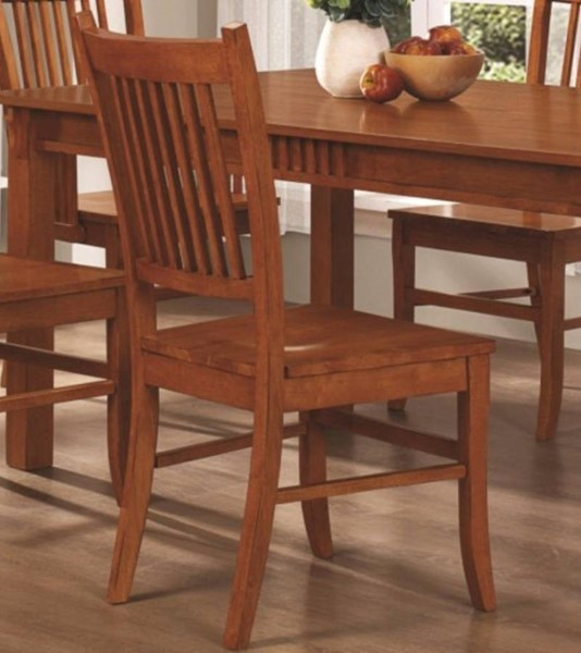 2 Homeroots Brown Wood Side Chairs OCN-310165