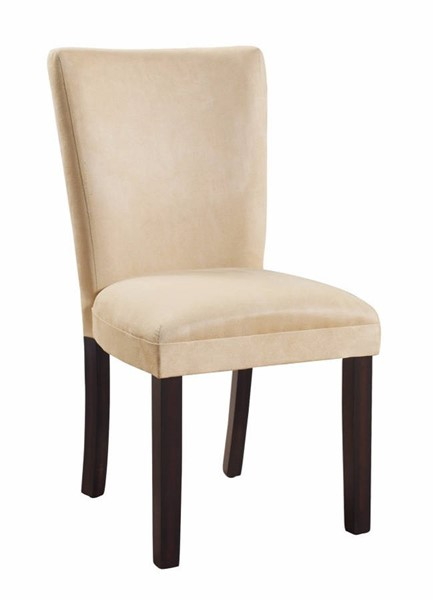 Homeroots Beige Fabric Side Dining Chairs OCN-310317-DR-CH-VAR