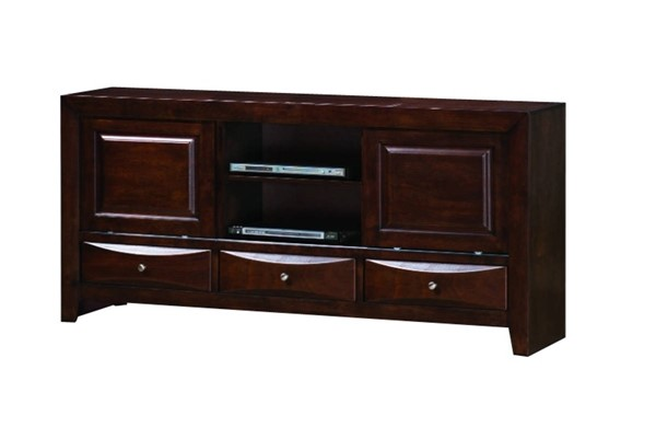 Homeroots Brown Wood Entertainment TV Console OCN-314081