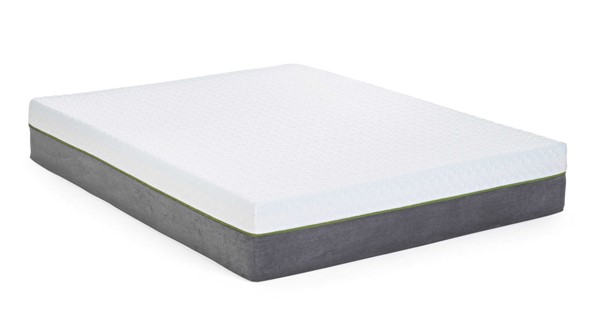 HomeRoots 12 Inch Queen Memory Foam Mattress with Adjustable Base OCN-317367