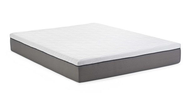HomeRoots 10 Inch Twin Adjustable Base Set Long Memory Foam Mattress OCN-317399