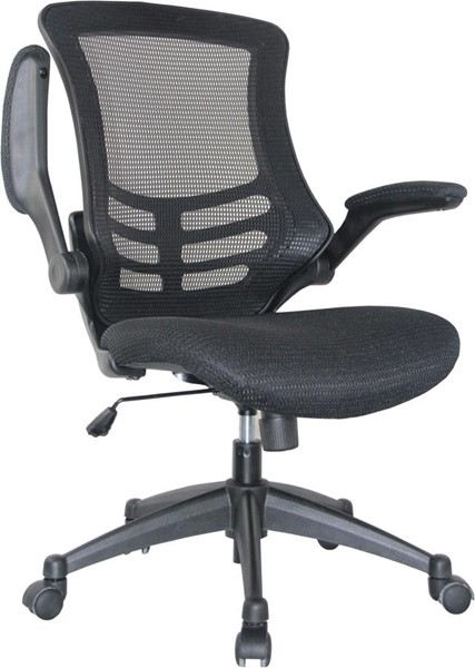 HomeRoots Lenox Fabric Adjustable Office Chairs OCN-3180-OC-VAR