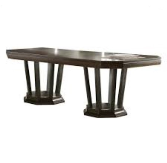Homeroots Tobacco Wood Dining Table OCN-318895