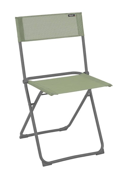 2 Homeroots Moss Fabric Steel Folding Chairs OCN-320633