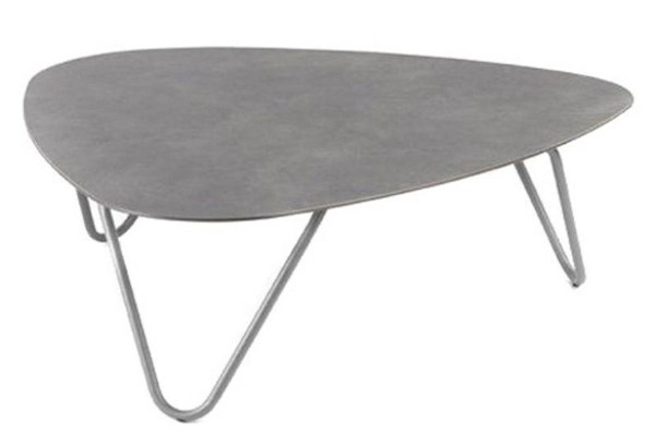Homeroots Volcanic Titane Steel Table OCN-320654