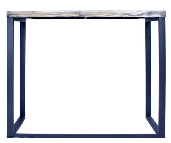 Homeroots Brown Wood Metal Console Table OCN-328669