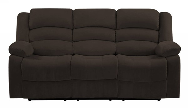 HomeRoots Contemporary Brown Fabric Sofas OCN-32936-SF-VAR