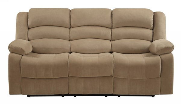 HomeRoots Contemporary Beige Fabric Sofa OCN-329371